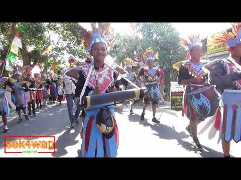 Cultural carnival at Karangpete RW 06 Salatiga in 2017
