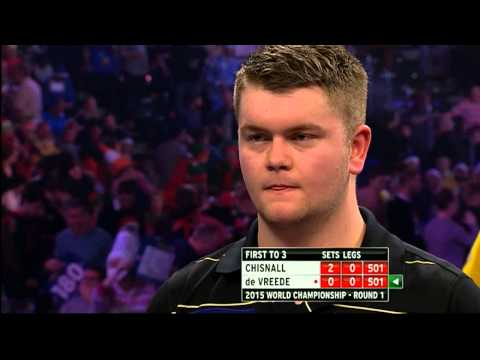 Chisnall v Vreede | Round One | World Darts Championship 2015