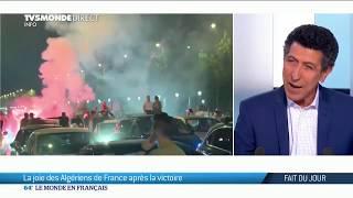 Victoire de l'Algérie : la joie des algériens de France
