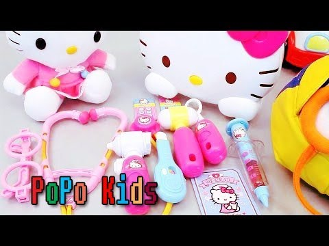 Learn color shapes of hello kitty mini kitchen mini - Cuisine hello kitty ecoiffier ...