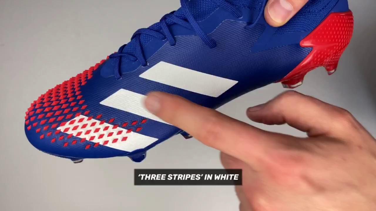 adidas Youth Predator 20 Pro Soccer Goalie GloveBlack Active Red