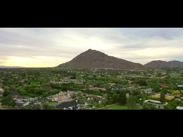 Camelback Mountain Scottsdale Arizona Drone Aerials (DJI Mavic 2 Pro)