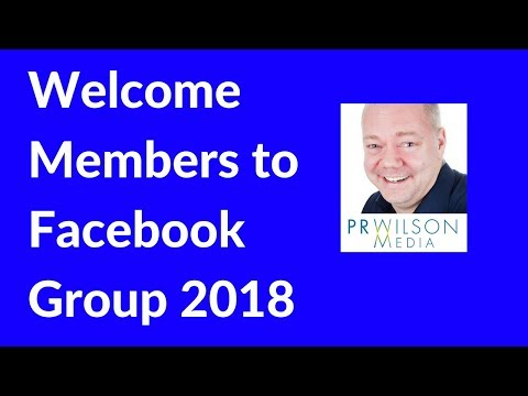 How to use Welcome post feature in Facebook group 2018