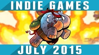 Top 10 Best Indie Games of the Month - July 2015