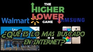 ¿Qué es lo mas buscado en internet? / The Higher Lower Game