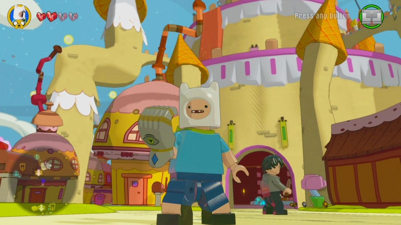 Lego Dimensions Adventure Time World Open World Free