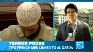 Italy: 2 French men accused of terror activities