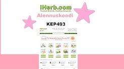 iHerb alennuskoodin KEP493 käyttö ja ohje