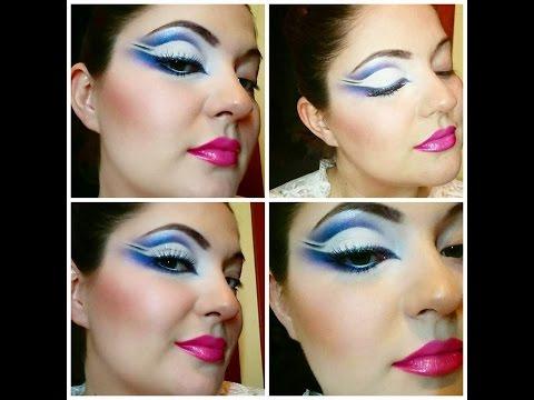 3rd aqua makeup with Kryolan, HEAN, Fardel, Aden
