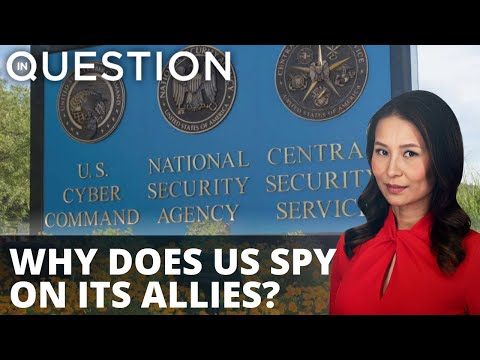 Why does US spy on its allies? EU leaders outraged