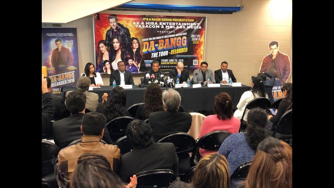 Press Meet Highlights - Da-Bangg Reloaded - Salman / Katrina Concert
