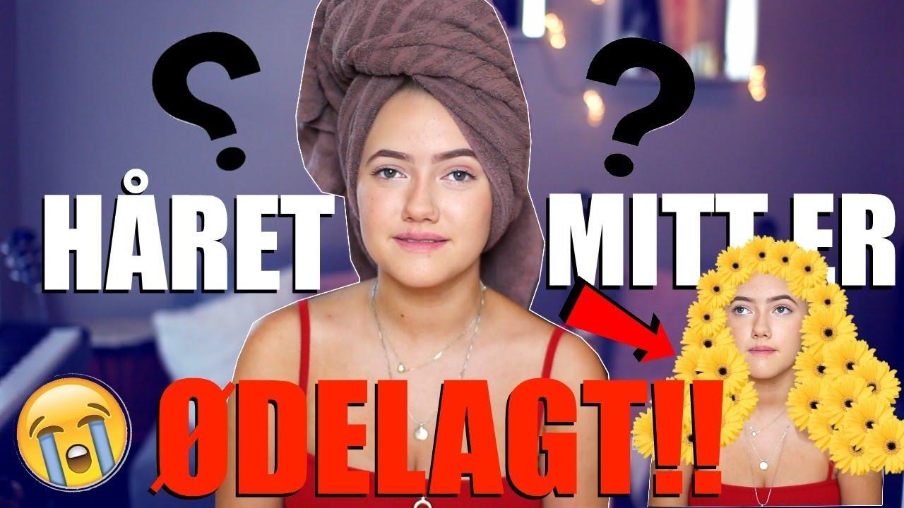 HÅRKATASTROFE- Ødelegger Håret Mitt - YouTube