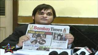 Press Cnfrence Salma Aaga Daughter Zarah Khan MMS   13