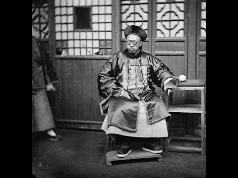 3D Stereoscopic Photographs of People in Beijing, China (1869)