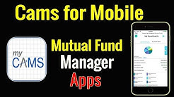 MyCams App for Mobile Phone | All in One Mutual Fund Account Watch in Cams | How to Use