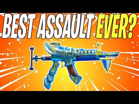 BEST ASSAULT RIFLE IN THE GAME? Hemlock All Legendary Perks Review | Fortnite Save The World