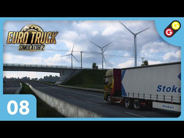 Euro Truck Simulator 2 #08 On arrive au Danemark ! [FR]