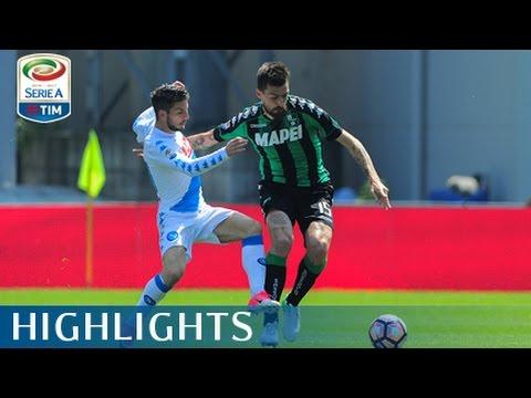 Sassuolo - Napoli - 2-2- Highlights - Giornata 33 - Serie A TIM 2016/17
