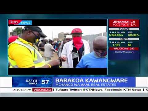 Barakoa 3,000 zasambazwa kwa wakazi na waendesha bodaboda mtaani Kawangware