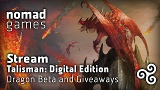 Talisman: Digital Edition - Dragon beta gameplay + GIVEAWAY!