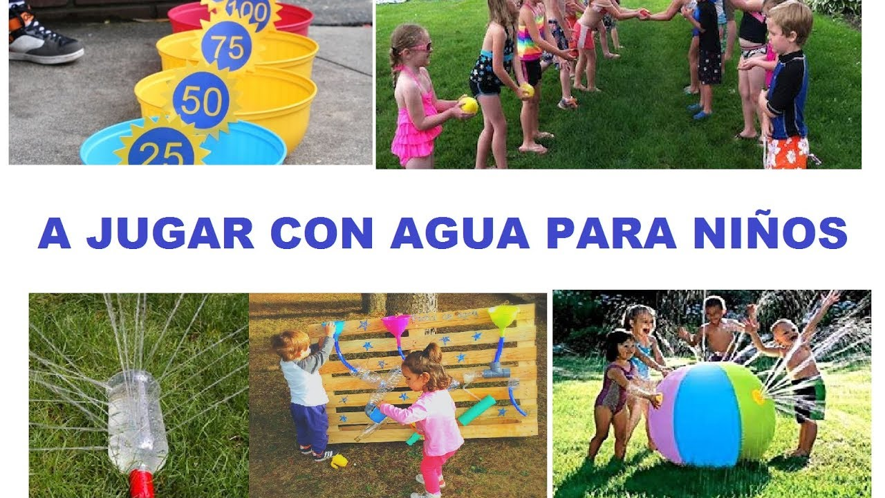 Juegos para ni os con agua youtube for Parrilla de actividades casa del agua