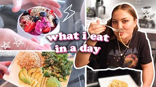 what i eat in a day: vegan 🌱2019