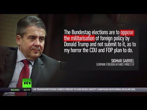 Cash Kowtow: German FM opposes Merkel's defense budget boost for NATO