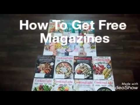 How To Get Free Magazines & Coupons (YES IT'S REALLY FREE)