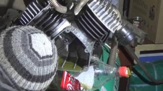 Разборка компрессора Extel ZVA50