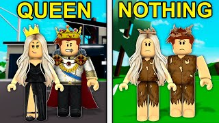 QUEEN Becomes NOTHING.. (Roblox Brookhaven)