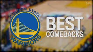 The Warriors Best Comebacks