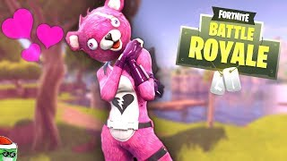 "*NEW* LEGENDARY Skin ""Love Bear"" Fortnite Battle Royal"