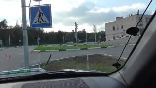Полезная информация на автодроме (площадка)с автоинструктором.