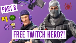 FORTNITE SAVE THE WORLD! PART 8! STORY MODE CAMPAIGN WALKTHROUGH! FREE TWITCH HERO PACK GAMERZWORLD!