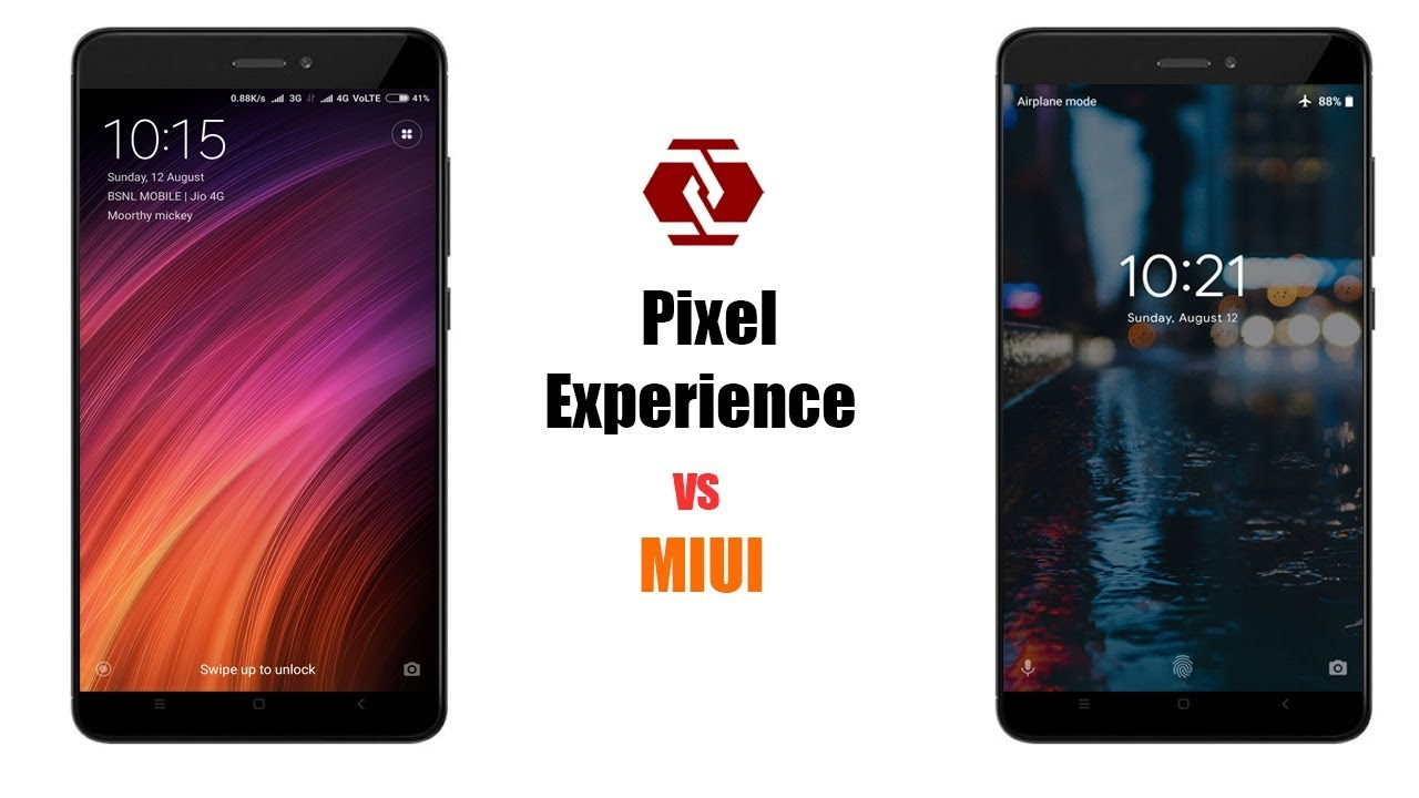 Pixel Experience VS MIUI 9 | Redmi Note 4 | ROM Comparison [HD]