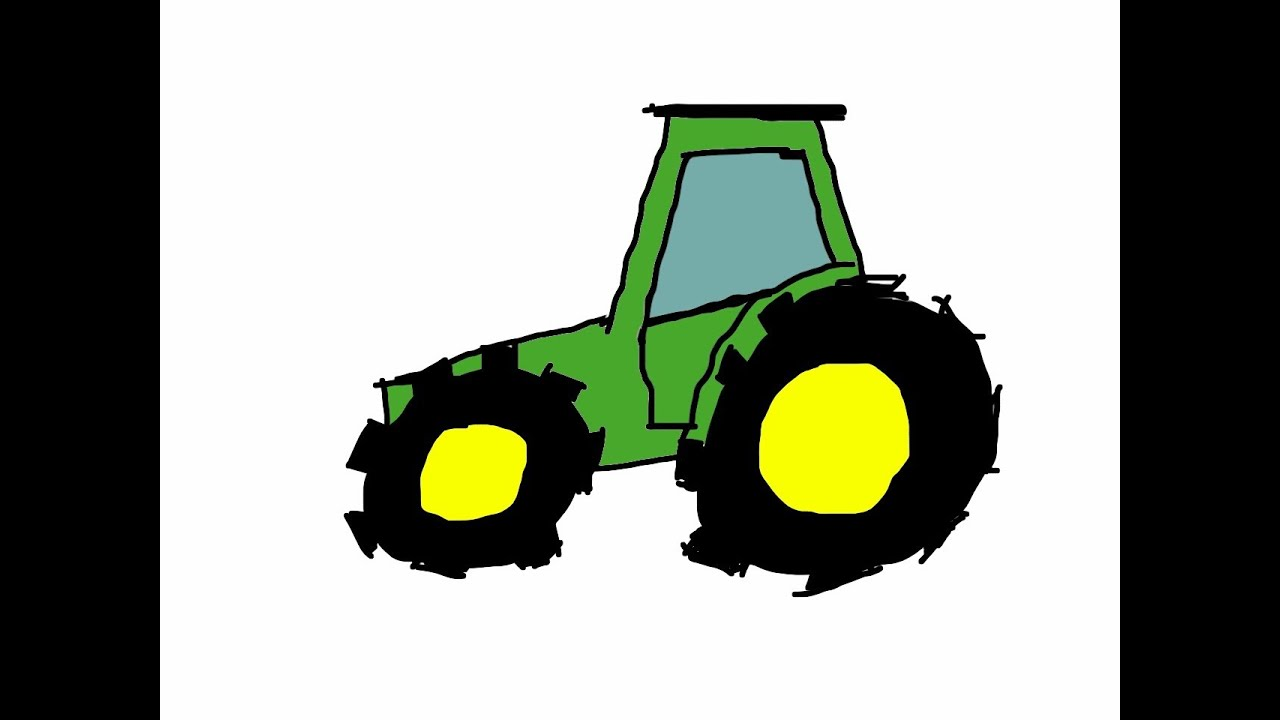 Lujo John Deere Tractor Para Colorear Páginas Para Imprimir Foto ...