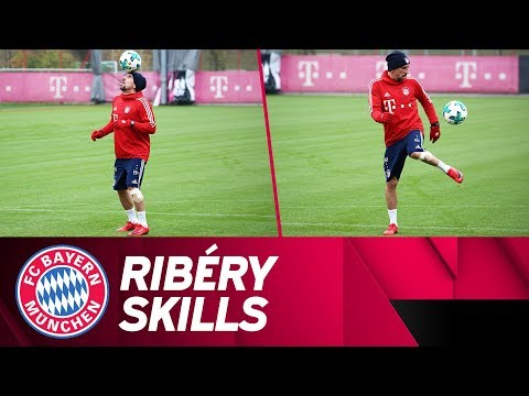 Franck Ribéry works on his skills! 🔥 | FC Bayern