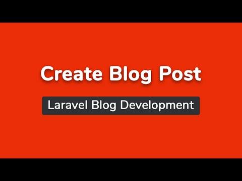 Post List And Post Create (Part 11) - Laravel Blog Development Bangla Tutorial