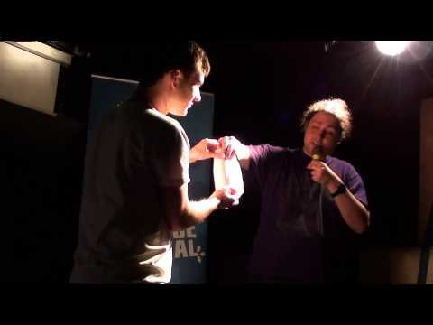 "Lewis MacKenzie - ""Wibbly-wobbly-spacey-wacey"" at Bright Club Glasgow Science Festival"