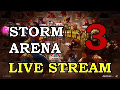 Storm Arena - Part 3   Marvel Contest of Champions Live Stream