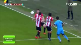 Fc barcelona vs athletic bilbao 2-1 (arabic commentary)