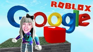 Roblox: GOOGLE EXPERIENCE - Nina & Pew The Pie Caught in Youtube World | Google Obby Escape