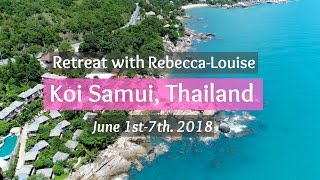Join me on a RETREAT in Thailand - SIGN UP HERE! | Rebecca Louise