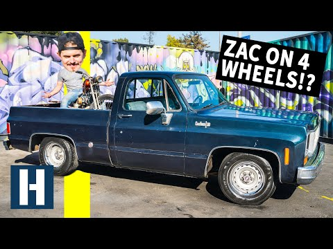 74 Chevy C10 Chopper Hauler: Zacs First Four Wheeled Project!