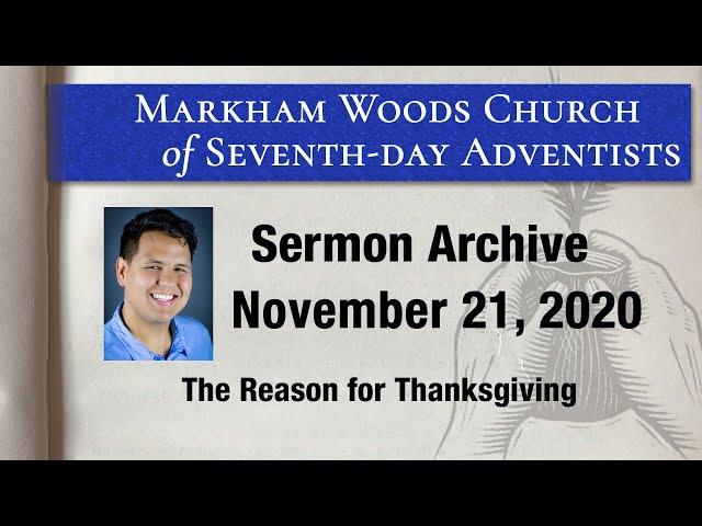 The Reason for Thanksgiving - S20 E46