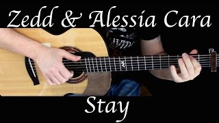 Kelly Valleau - Stay (Zedd) - Fingerstyle Guitar