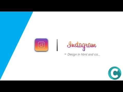 Instagram Logo Design In HTML And Css