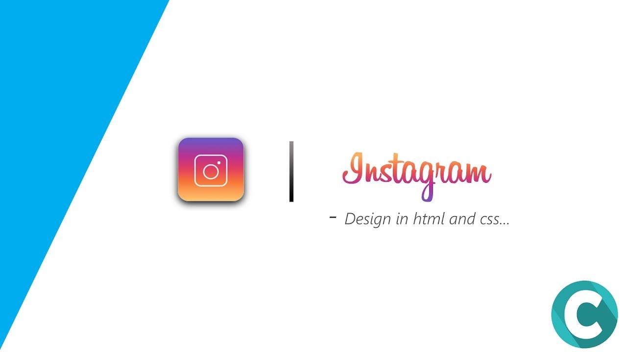 logo instagram css