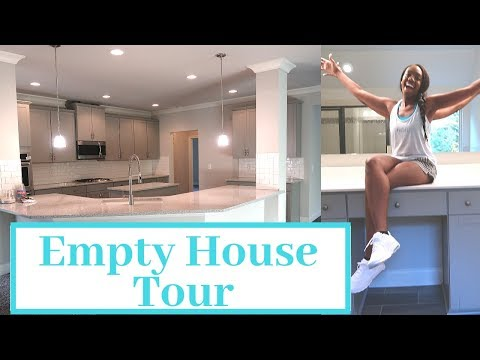 Luxury House Tour   Empty House Tour 2018   Bought Our Dream Home!!!! ~AngelGrace2