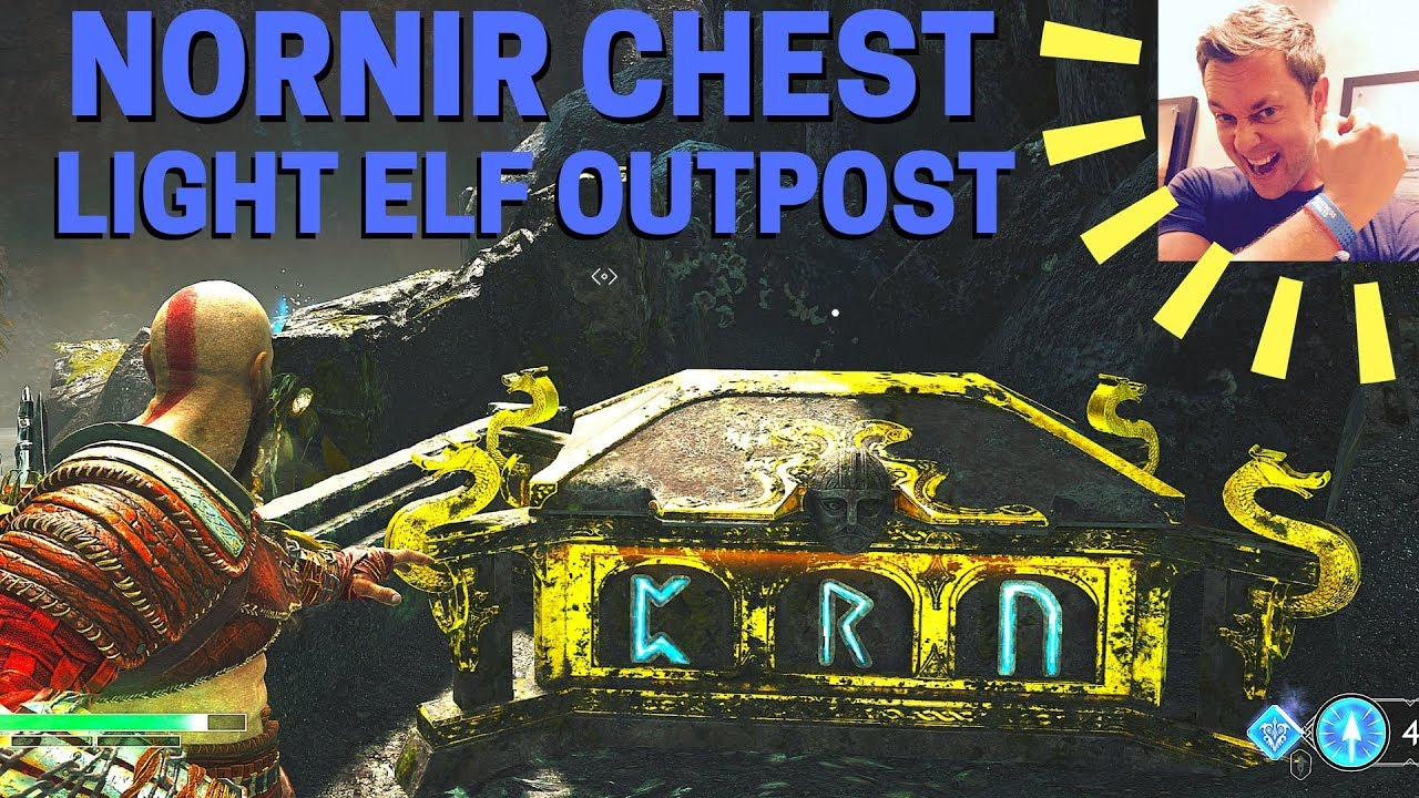 god of war light elf outpost chest